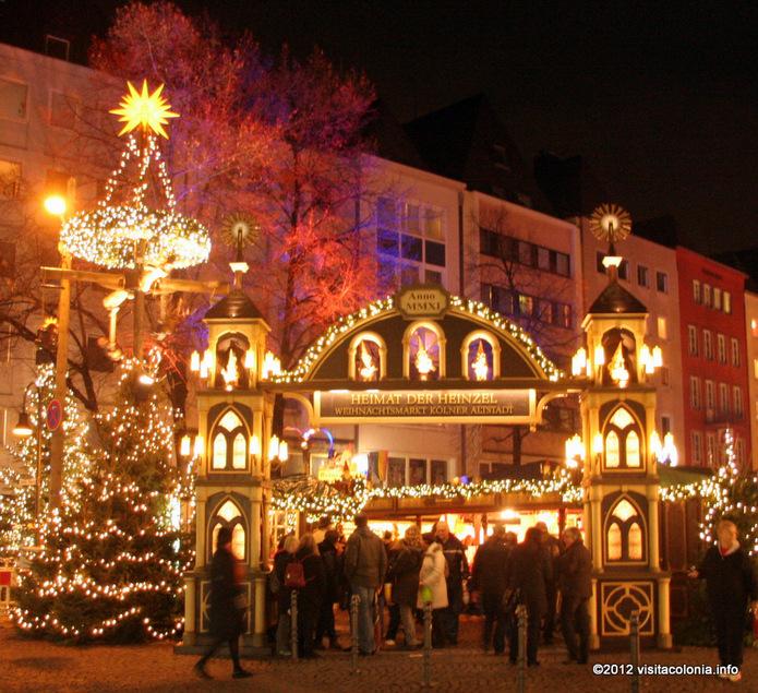Ruta navideña por los mercados colonienses